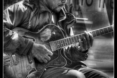 BLUES IN BLACK AND WHITE by Paul Rayment