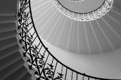 GREY SPIRALS OF QUEEN STAIRS by Anne Blunt